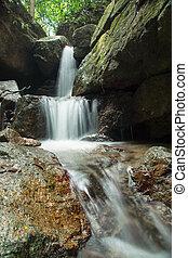 malý, thajsko, vodopád
