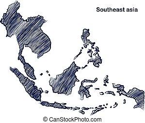 mapa, asean