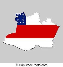 mapa, celostátní vlaječka