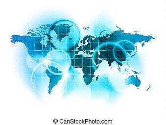 mapa, společnost