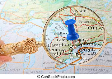 Mapa Toronta
