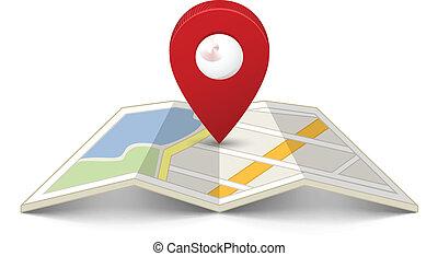 mapovat přišpendlit