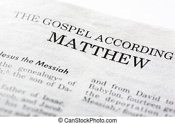 mathew, evangelium