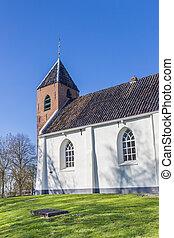 mensingeweer, vesnice, církev, dějinný, maličký, neposkvrněný
