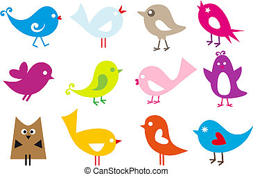 Milí ptáčci