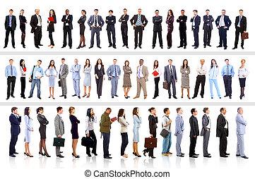 Mladí atraktivní obchodníci - elitní obchodní tým
