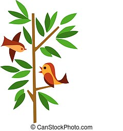 mladický kopyto, 2 ptáci