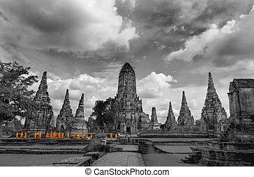mnisi, turistika, ayutthaya