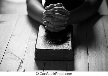 Modlí se za starých časů