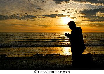 Modlím se k Bohu