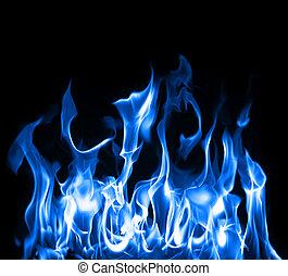 Modré plameny