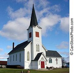 Modrý nebeský kostel