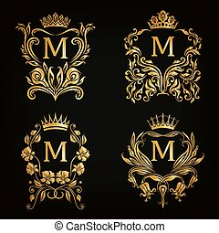 monogram, logos, dát