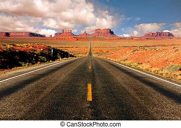 Monument Valley arizona míli 13