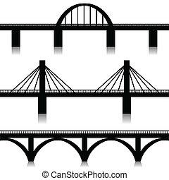 Mosty nastaveny