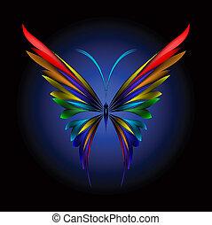 motýl, jednoducho