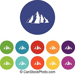 Mountain nastavil ikony