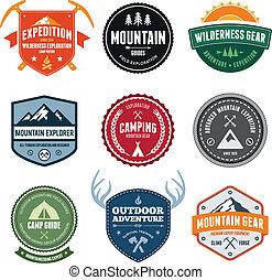 Mountain odznaky