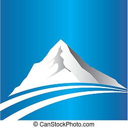 Mountain s logem
