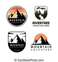 Mountain sestavil logo
