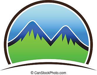 Mountains icon