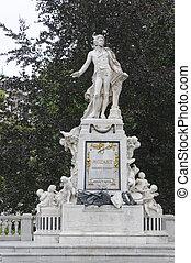 mozart, pomník