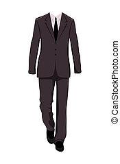 Mužský oblek, designové prvky