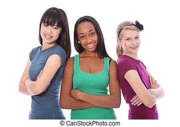 multi, skupina, týkající se mládeže od 13 do 19 let, škola, kulturní, sluka průvodce