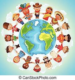 multicultural, charakter