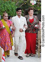 multicultural, rodina