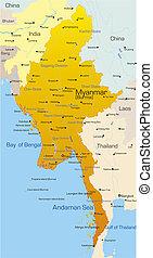 Myanmarská země