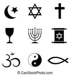 Náboženské symboly ikony