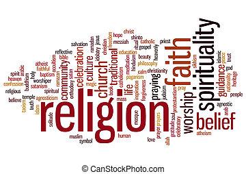 náboženství, vzkaz, mračno