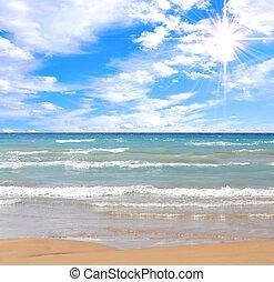 Nádherná pláž