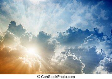 Nádherné nebe