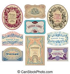 Nápisy Vintage (vektor)
