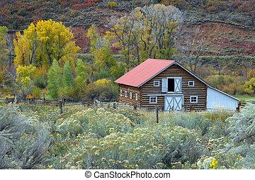 Na podzim vesnice
