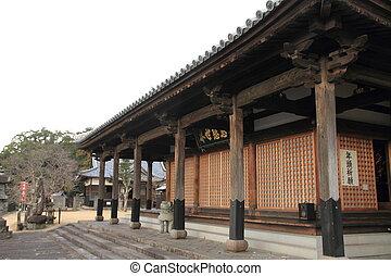 nagasaki, jídelna, kiyomizu, japonsko, hlavní, chrám