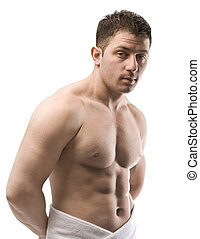 Nahý mužský torso