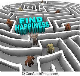 Najdi si cestu ke štěstí