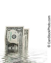namočit, směnky, dolar