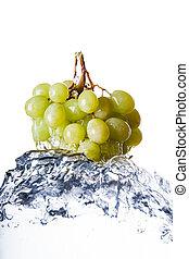 namočit, zrnko vína