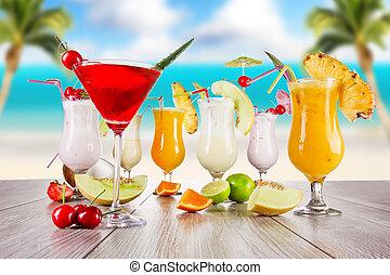 napití, léto