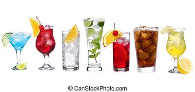Nastavte různé koktejly