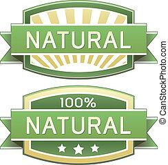 Naturální jídlo nebo výrobek