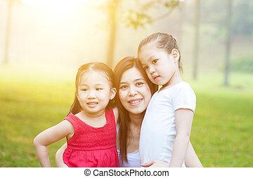 nature., dcera, matka