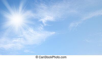 Nebe a slunce