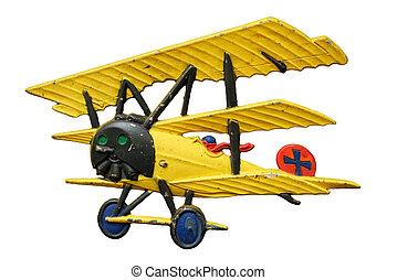 nejdříve, letadlo, společnost, válka, hračka, rodový