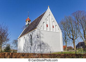 neposkvrněný, vesnice, breede, maličký, církev