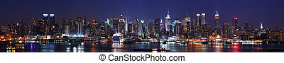 New York City Manhattanská panorama